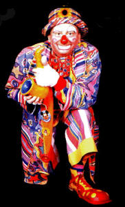 Conk The Clown Available From Aurora S Carnival