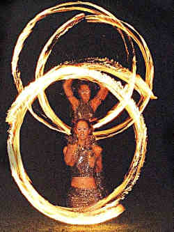 Fire Flys, fire performers for any event.