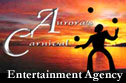 Aurora's Carnival Entertainment Agency logo.
