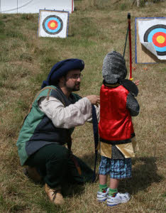 Medieval have a go archery