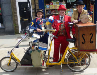 Skiffle Disco and bike