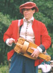 Playing the Hurdy Gurdy