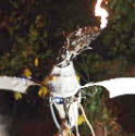 robotic fire breathing dragon  from circusperformers.co.uk and Auroras Carnival